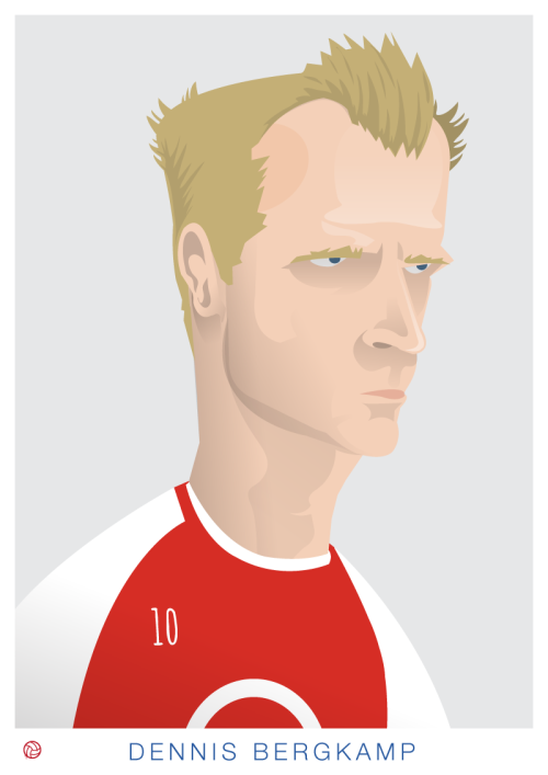 Dennis Bergkamp TO PURCHASE A PRINT CLICK HERE