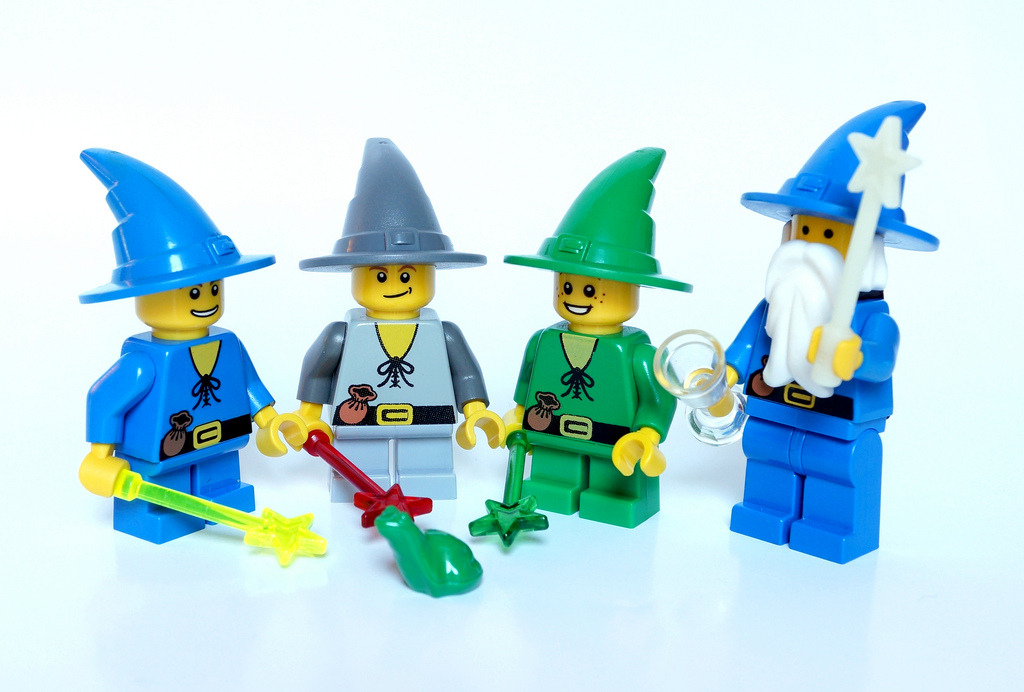 Wizards School (by Vanjey_Lego)