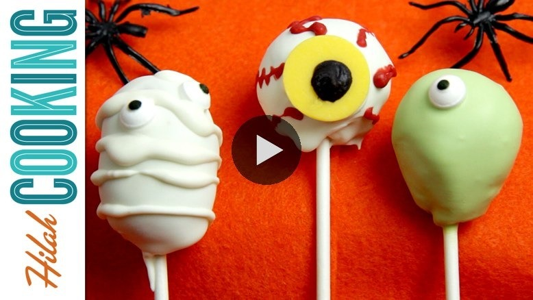 What would make cake pops even better? Halloween cake pops! Hilah Cooking special guest Jessica shows us how. WATCH NOW ON BLIP: Halloween Cake Pops