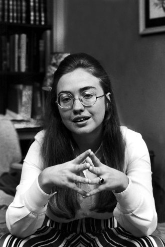 happy bday to HRC, one groovy chick. (posted by J) (source: life)