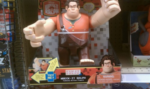 Wreck-It Ralph toy in store