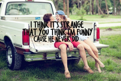 Cause he never did..