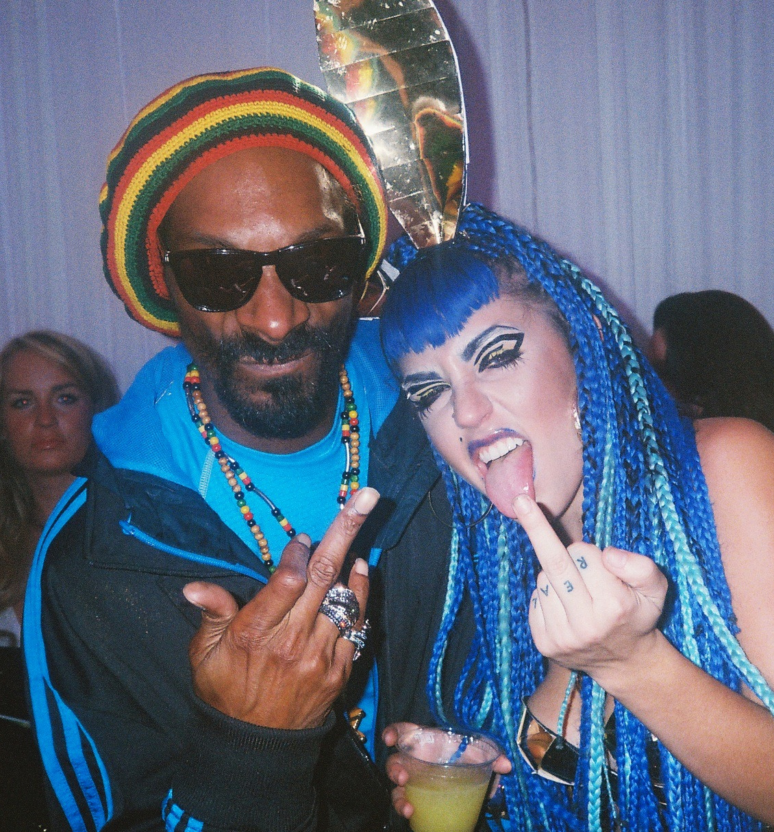 Snoop had a b-day party at the Playboy man$ion. I've never been….shit was CUUUUUTE!