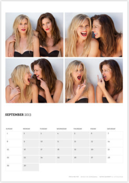 ricp:  Acting Outlaws 2013 calendar is out and I'm pretty sure September - December are some of the hottest months I've ever seen  Outlaws