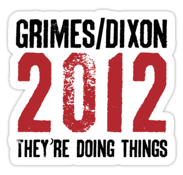 feedus-reedus:  omg, sticker purchased. *BLEEPBLOOP*  I know who's got my vote. #thewalkingdead