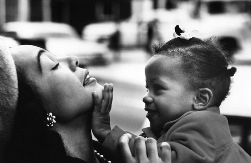 our love is generational  youngfirstlady:  Coretta Scott King with her daughter Bernice