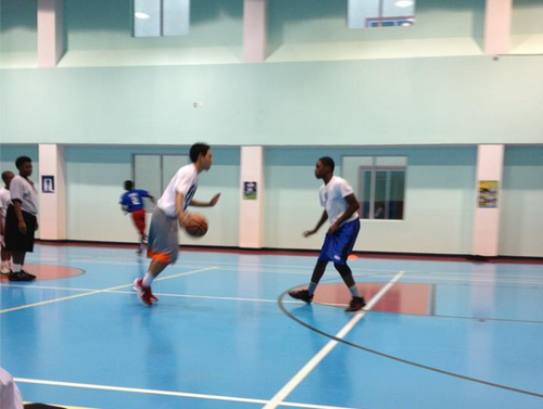 5'10 point guard vs 5'9 point guard 1v.1 during tryouts. http://limitedtothefinest.tumblr.com/