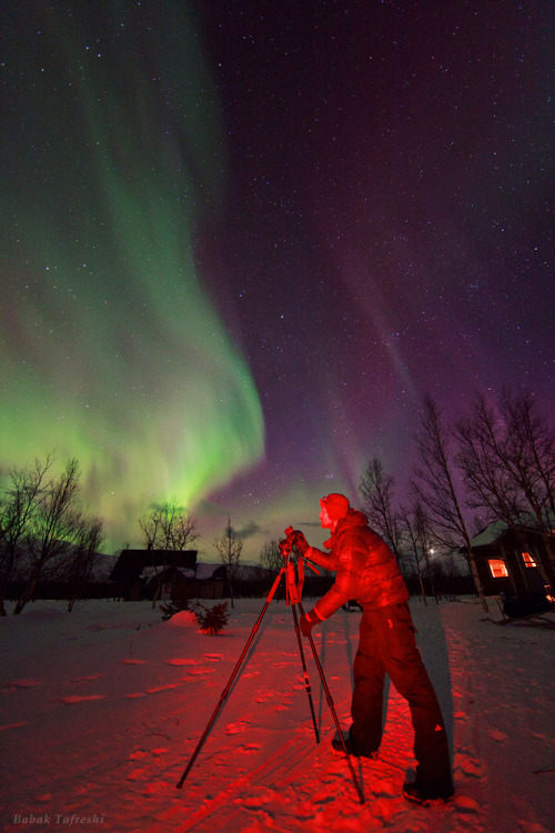 ikenbot:  Aurora Photographer