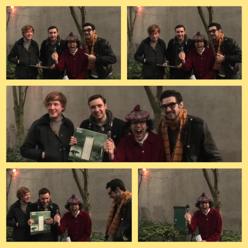 There are no words for this…  #awkward #twodoorcinemaclub #tdcc  #interview