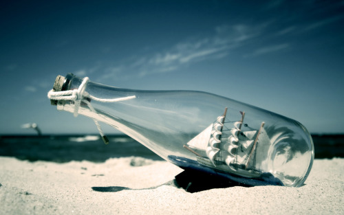 dudeitsnick:  Ship In A Bottle