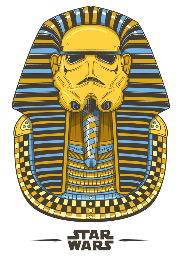 tiefighters:  Troopankhamun Created by Neil Hanvey