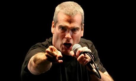 henry rollins pointing at the camera.
