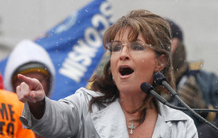 fingerpointing by sarah palin.