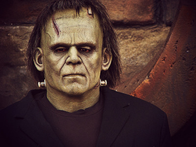Frankenstein on Flickr.Via Flickr: Such a sad face! I like him!