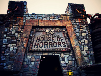 House Of Horrors on Flickr.Via Flickr: I was not scared but I did jump hahaha