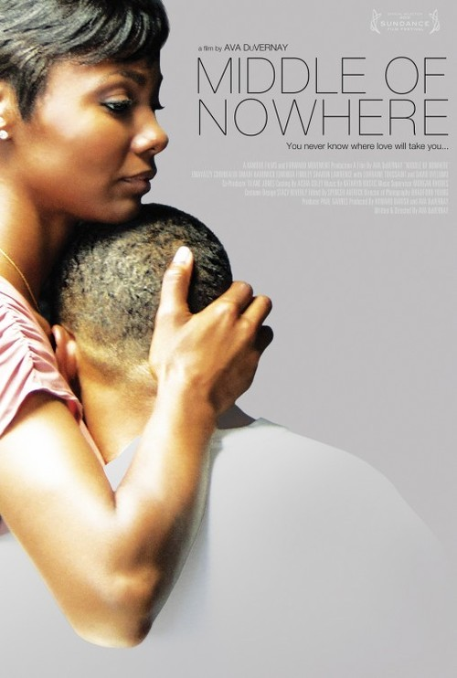 "inanorderlyfashion:  Ava DuVernay, Film ""Middle of Nowhere"" Reminds Us that Great Films Still Exist Long Beach native, Ava DuVernay seems to have Hollywood in a headlock and independent filmmakers all over rejoicing. Her film, Middle of Nowhere has been praised as a refreshing, brilliant, and inspiring piece. Not only has the praises been continuous and positive, it has also won Ms. DuVernay best director at the Sundance Film Festival, making her the first African-American and female to do so.  When her husband is sentence to eight years in prison, Rudy drops out of medical school in order to focus on her husband's well being while he's incarcerated – leading her on a journey to self-discovery. Set in the inner city of Los Angeles, and including an incredible cast, Ava has most definitely set a great example for independent filmmakers all over the world. I strongly urge you all to come out and not only view this film but encourage and support your local artist. Middle of Nowhere film is now showing in select theatres across the nation; click here to see if it's showing in your area! - Shaqueal Adkins  twitter/DJSUCHNSUCK"
