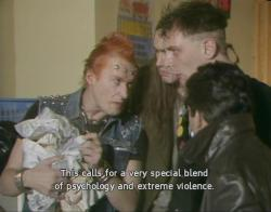 OMG I love this show so much. It's such horrible 80's British comedy.