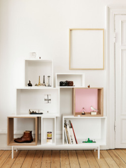 JDS ARCHITECTS  /  Stacked Shelf System for MUUTO