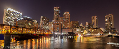 urbanthesia:  Boston Waterfront by Ken Zirkel on Flickr.