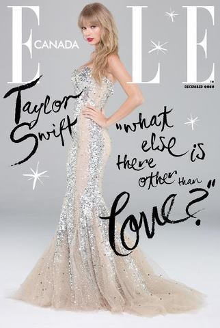 Taylor Swift @ Elle Canada Cover