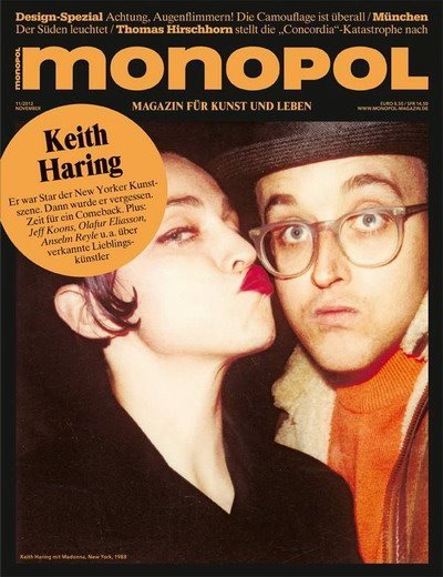 "Magazine : Madonna on the cover of ""monopol"""