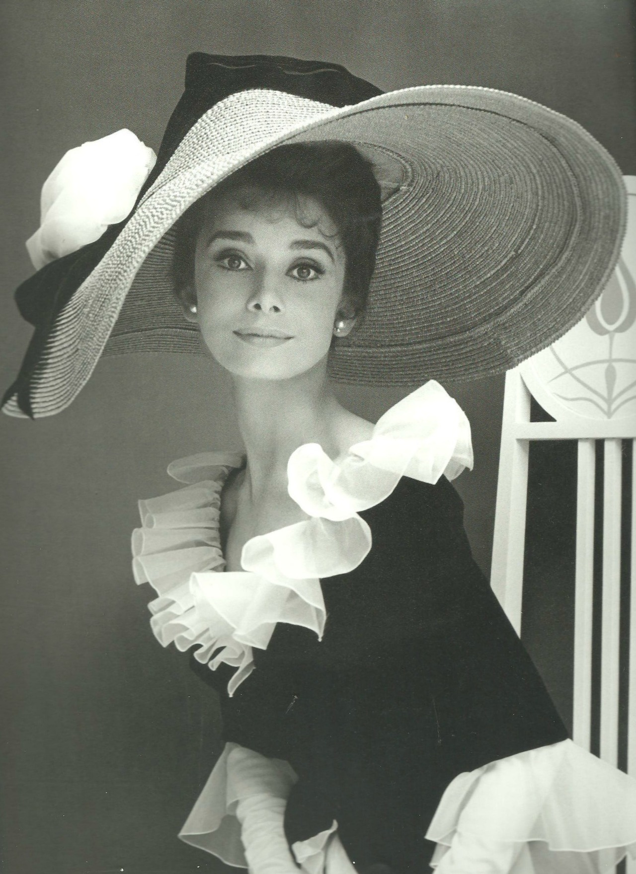 Audrey Hepburn photographed by Cecil Beaton, 1963.
