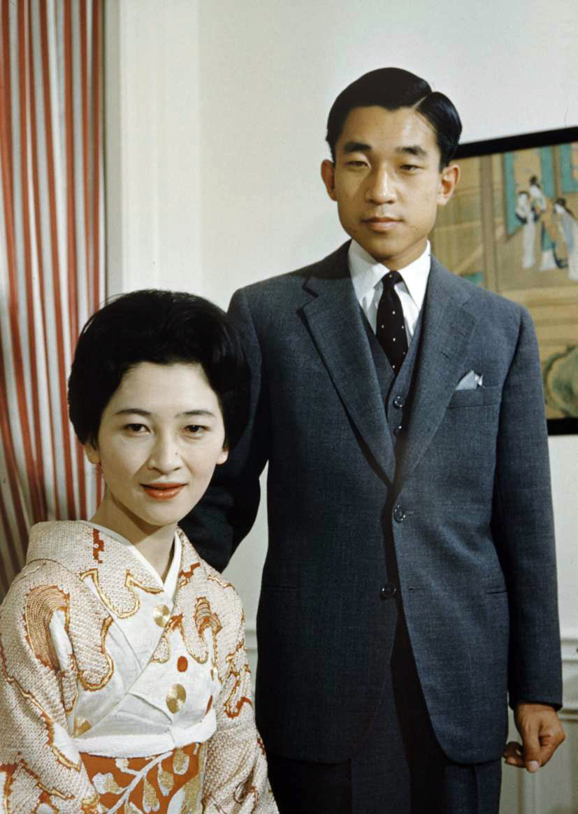 Try Austerity 2. Prince Akihito and Princess Michiko, 1960.