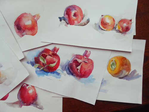Watercolor study