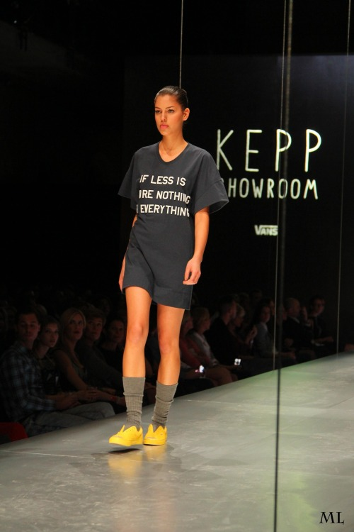 KEPP SHOWROOM 2012 F/W at MC fashion days
