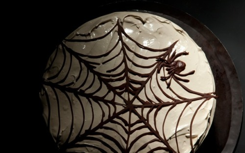 Eight Great Halloween Recipes This deep chocolate devil's food cake is just one reason to spend this weekend baking. more recipes here