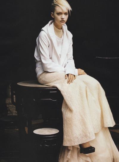 """""""La Cité des Anges"""" Gemma Ward for Vogue Paris 2005"""