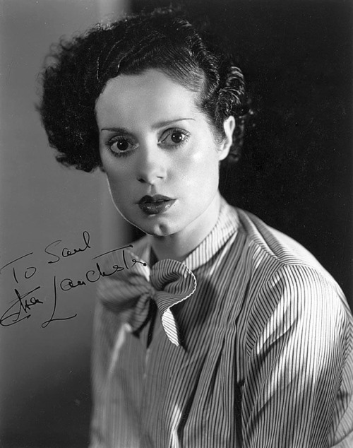 Elsa Lanchester (October 28, 1902 – December 26, 1986) by Clarence Sinclair Bull