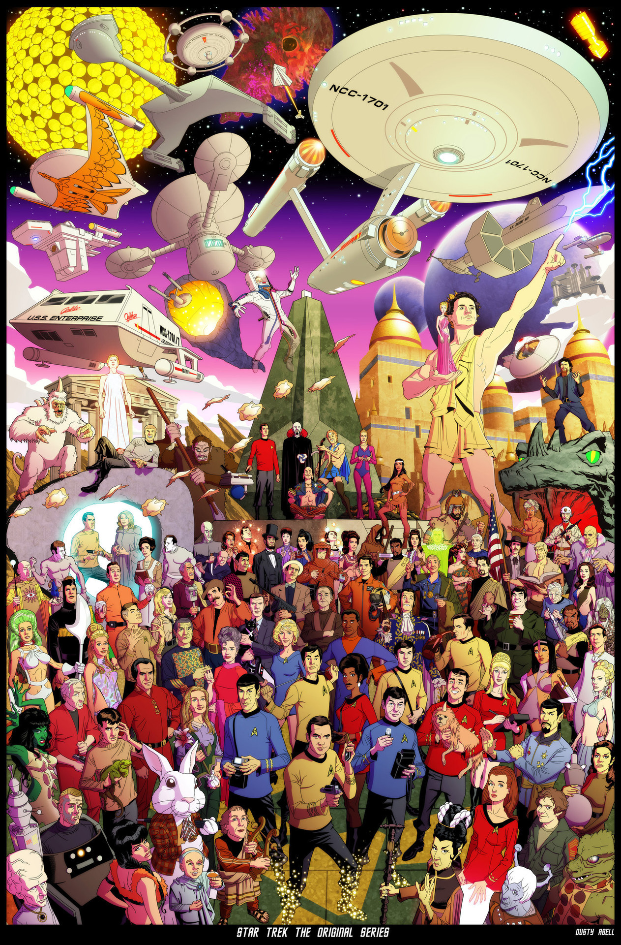 Star Trek The Original Series (by *dusty-abell)