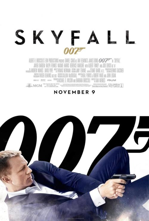 #118 Skyfall (2012) Dir. Sam Mendes  Skyfall has been one of the 2012 movies I've been most excited about for a few reasons. Firstly, I fucking love James Bond. Bond was my first big movie obsession so every time there's a new Bond film on the horizon I kind of become 12 years old again. Secondly I'm a huge fan of Daniel Craig's James Bond. He's my favourite incarnation of the character and Casino Royale is my favourite Bond movie of all time. Now we all know Quantum of Solace was a step downwards (though repeat viewings are very kind to it) so it's been a very long and painful wait before we got to see the producers deliver on the promise of the first Craig outing. Judging by the approach in their choice of cast and director it seemed like they fully intended this one to be something special and in the end that's exactly what it is. Well kind of.Firstly this is the sequel Casino Royale deserves and it's the Bond movie the fans have been pining for. Craig completely owns the part now and with a script he can actually get his teeth stuck into he really goes for broke and turns in perhaps the best singular James Bond performance in the series' history. It's both refreshing and jarring to have a Bond film that puts Bond and M's relationship front and centre. This really feels like the first time we've got to know the faces that pull the strings behind the curtains of MI6 and also see the cracks in their personalities. However,  Skyfall's real trump card comes in the shape of Javier Bardem's villain Silva. He's a grotesque and flamboyant creation and the first Bond villain in decades who feels like a true threat. It's great to see a Bond villain who actually gets his hands dirty too. The way it usually goes in Bond is you have a clever villain but a more interesting henchman who poses the actual physical threat to our hero but Silva has it all. He's driven, gleefully psychotic and wonderfully brought to life. He's up there with the best of the series and a fantastic shadow version of Bond himself. Mendes' direction aided by Roger Deakins' stunning cinematography is another highlight. Hiring those two was a true masterstroke and probably the main reason why this feels like the first auteur's Bond film but not distractingly so. Mendes is more than capable at staying invisible to let this simply just be a James Bond movie when it needs to be but the gorgeous lighting and his trademark use of striking colours bleeds through just enough. Now the issues I had with the film aren't necessarily issues at all just developments of the series I wasn't sure about. The whole point of Casino Royale and to a lesser extent Quantum of Solace was to really turn the Bond franchise on it's head. They stripped all the silliness away: the dumb gadgets, the cheese, Moneypenny, Q, the idea that Bond is invincible to create a lean mean action machine that was armed with visceral thrills and an intelligent plot. Now the whole point of Skyfall, on the hand, seems to be to take that Bond and slowly turn him back into the Bond of old. Don't get me wrong, I love the new takes on Q and Moneypenny. It totally works but how long will it be before those characters end up showing up just for the sake of it again? As long they have stuff to do I'm fine with it. There's also a bit more of Bond-as-superhero in this movie which I felt clashed with Craig's interpretation. I didn't expect them to revert to vintage Bond tropes so soon, instead I'd hoped they would go on to create new and fresh ones but as Skyfall reaches it's climax you can't help but feel a bit uneasy that we're right back where we were at the end of Die Another Day. Though speaking of that film, Skyfall doesn't fall into the same eye-winking franchise nods that were so distracting for the 40th anniversary. Mendes' film has lots of sly references to the series' past but they're much more subtle and work thematically. All in all Skyfall lived up to my expectations even if it did take an odd step backwards in terms of the evolution of the franchise here and there. But as a stand alone Bond movie this one has it all, including a brilliant Scotland-bound finale that is unlike anything we've ever seen James Bond tackle before. It's not quite up there with Casino Royale but it definitely gets my vote as one of the most satisfying films of the series and of the year.