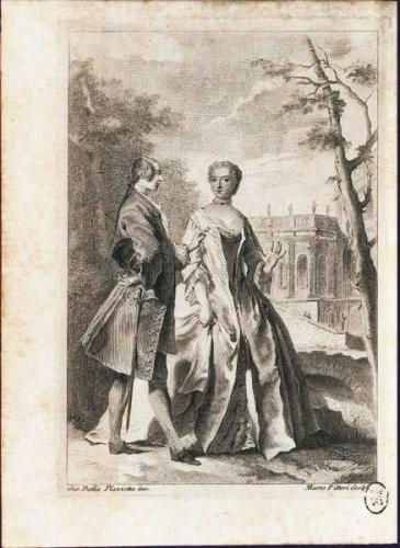the-daily-cosmos:  Voltaire and Emilie in Castle Cirey