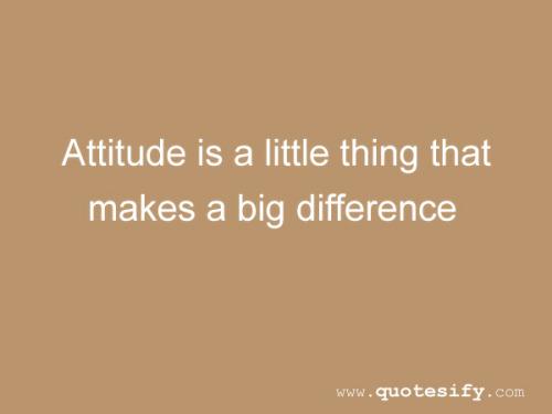 attitude quotes on Tumblr
