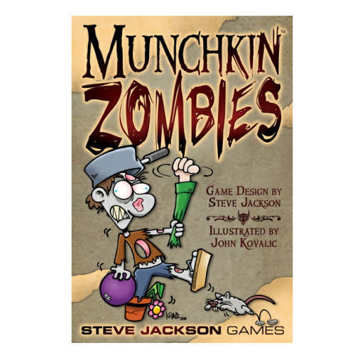 No movie on night #6 for countdown to Halloween….Instead, Munchkin Zombies game with friends :D Braaaaaaaaaaaaaiiiiiiinnnnssss!!!