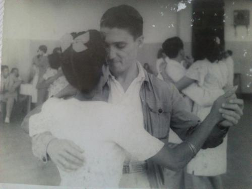 "ofbirdsandmoons:  ""My grandparents, when they fell in love"", 1940's"