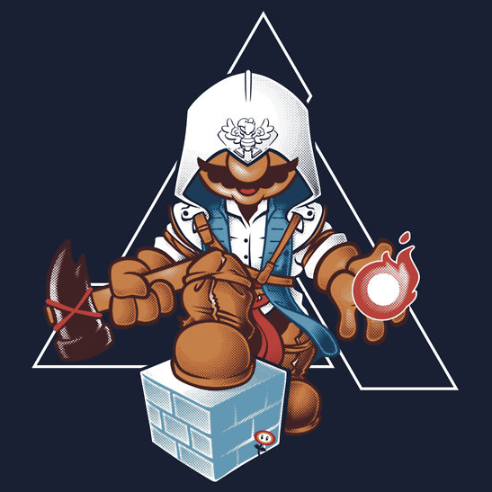 It's A Me!…Connor! T-Shirts & Hoodies available on RedBubble Created by Nathan Davis