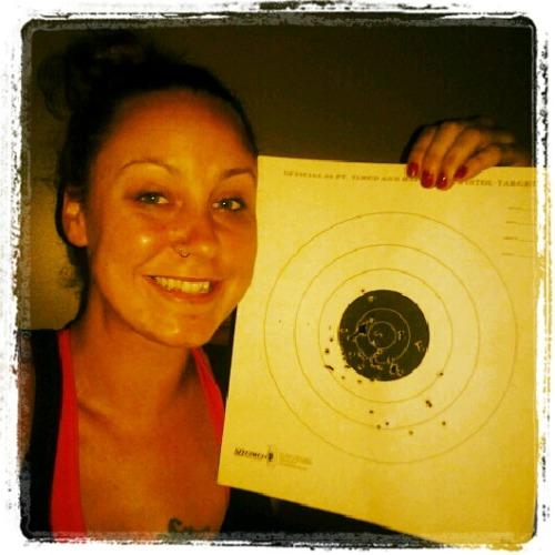 girls shooting guns tumblr