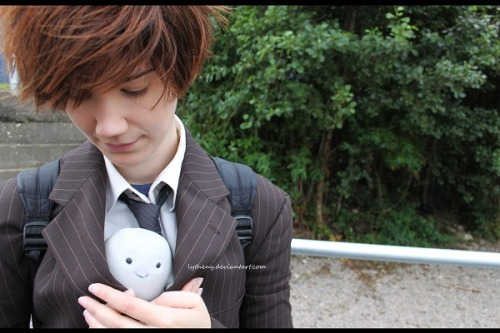 Tenth Doctor Cosplay + Adipose adiposeontour:    Doctor - http://fabulanova.deviantart.com
