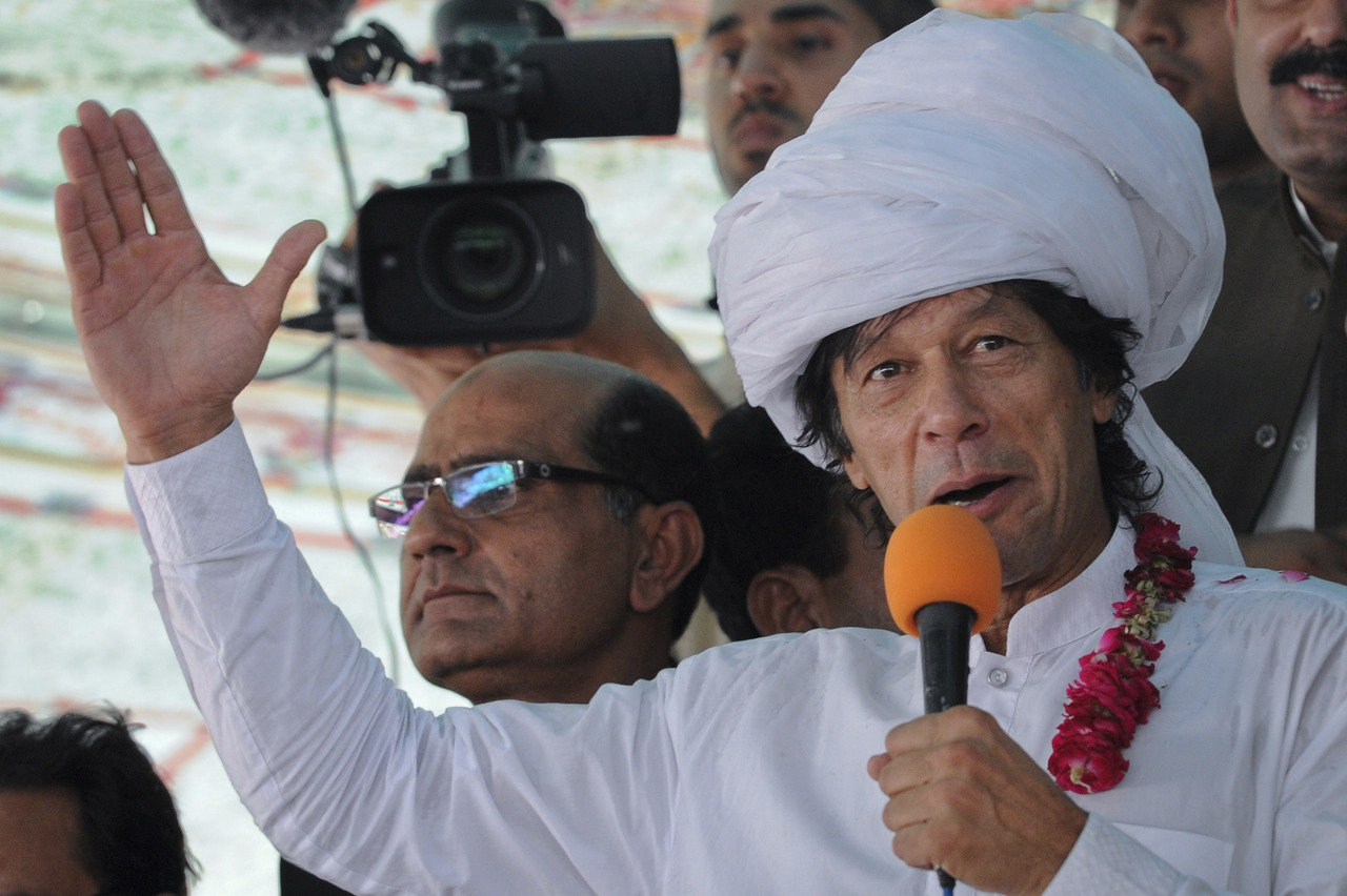 reuters:  Pakistani politician Imran Kahn, a vocal critic of U.S. drone strikes, was briefly delayed and questioned by U.S. immigration officials in Toronto before being allowed to board a flight to New York, prompting his party to demand an apology from Washington. Khan told his followers on Twitter that he was detained and interrogated Friday about his views on drones.READ ON: U.S. officials pull Pakistani politician off plane