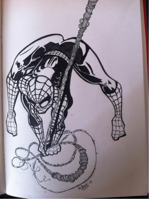 Quick Spider-man sketch.