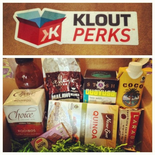 Wow! @klout perks really came through on this one! #fairtrade
