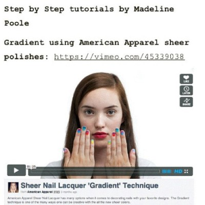 Step by Step #NailArt tutorial videos now available on @MPNails website www.mpnails.com #NailingHollywood