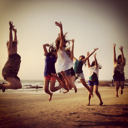 When in Goa, the girls fly high. #goa #india #travel #instafun #instaoftheday #picoftheday #photooftheday #webstagram #igers #beach