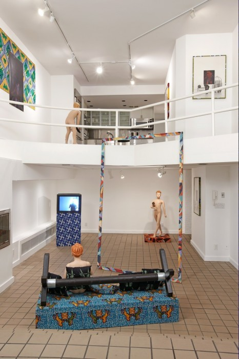 David Lieske (b. 1979) Installation view at Alex Zachary in 2010.