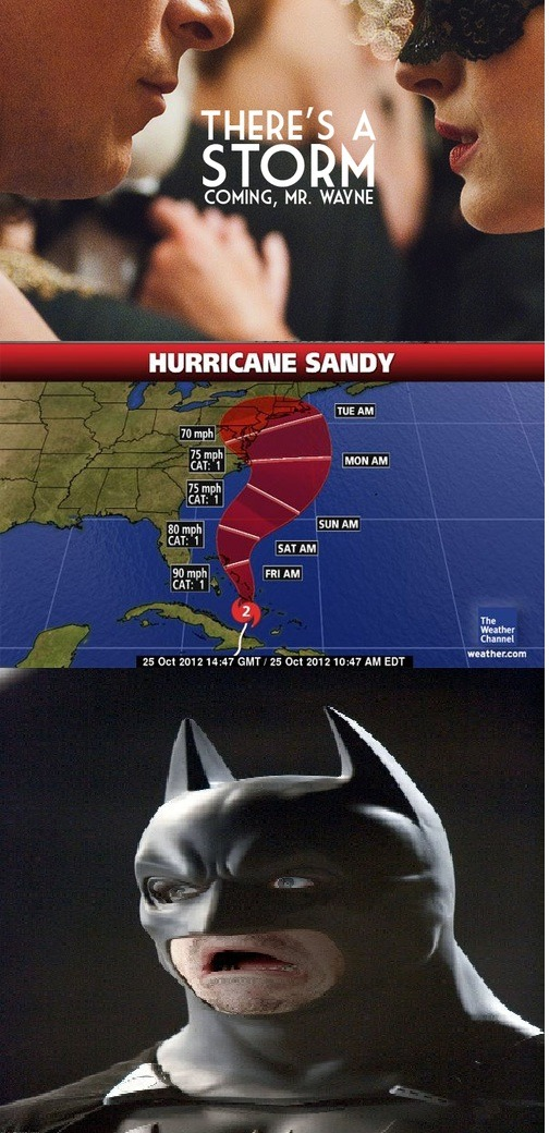 I got bored, so here's basically everyone's reaction to this hurricane that's gonna happen.  But then I remembered I'm also lazy and can barely use paint.