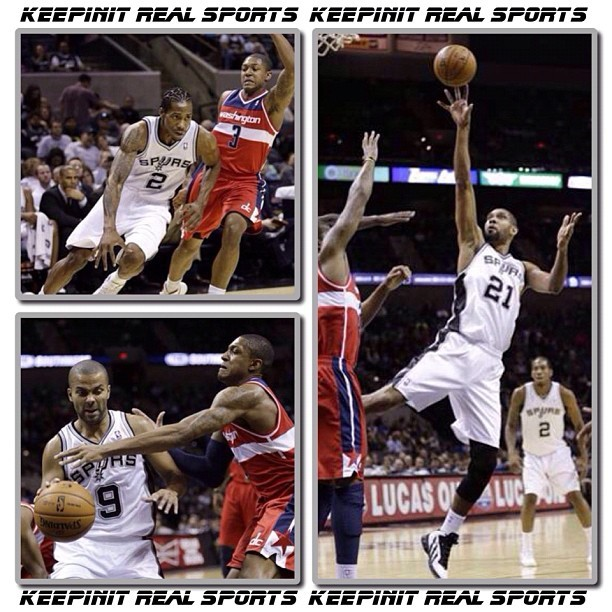 NBA: Pre-Season Wizards - vs - Spurs  Wizards 85 (3-5, 0-1 away) Spurs 100 (4-3, 3-1 home) FINAL  Top Performers Washington: E. Barron 12 Pts, 10 Reb, 1 Stl San Antonio: T. Duncan 16 Pts, 13 Reb, 3 Ast, 2 Blk    #keepinitrealsports #Washington #Wizards #SanAntonio #Spurs #EarlBarron #TimDuncan #PreSeason NBA #Basketball #Hoops #B_Ball #Streetball #Sports #MysterKeepinit