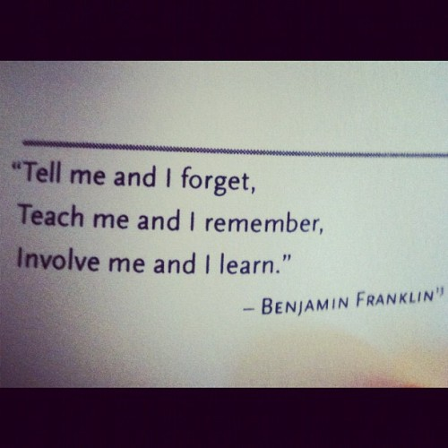 Great Ben Franklin quote
